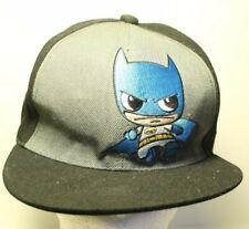 Baby Batman Baseball Hat Cap Black and Gray Snapback