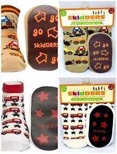 2 Pairs of Skidders Slipper Socks 12 Months Size 4 Nwt