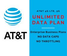 Business Enterprise Unlimited Data Plan Rental At&T Sim Card 4G Lte 5G Hotspot