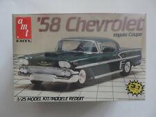 AMT ERTL '58 Chevrolet Impala Coupe  OVP  MB  Size 1:25