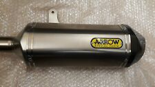 Triumph speed triple r Left Hand Arrow Exhaust Silencer End Can T9600637