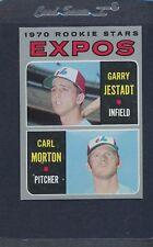 1970 Topps #109 Expos Rookie Stars Jestadt/Morton EX/MT *6472