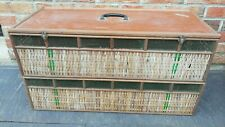 Old Cage To Pigeons Traveller,Fancier,12 Pigeons,Parfait,Decoration