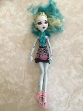 """Monster High 11"""" Doll LAGOONA BLUE Frights Camera Action Hauntlywood Sea Monster"""