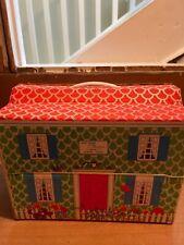 VINTAGE LIDDLE KIDDLE DOLL HOUSE CLASSICS CAPE COD  VINYL DOLLHOUSE w furniture