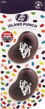 1 x Twin Pack 3D JELLY BELLY Clip Vent DUO Bean Gel ISLAND PUNCH Air Freshener
