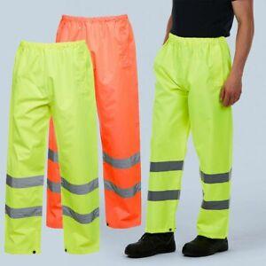 Hi-Viz Trouser by Uneek UC807 for Traffic Warden, Parking attendant, builder etc