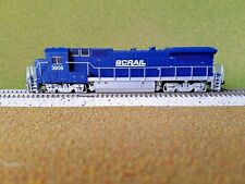 ATLAS 1/160 N SCALE BC RAIL DASH 8-40B RD # 3906 DC DCC READY ITEM 40000474 F/S