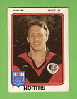 1981 NORTH SYDNEY BEARS SCANLENS RUGBY LEAGUE CARD #135 MARK GRAHAM