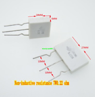 US Stock 5pcs 0.47 ohm 0R47 5W Aluminum Housed Metal Case Wirewound Resistors