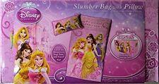 Disney Princess Slumber Bag and Pillow + Storage Box