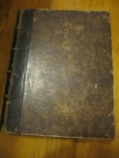 RARE ITALIAN -FRENCH DICTIONARY BY G-F. BARBERI VOL II 1854 GOOD CONDITION