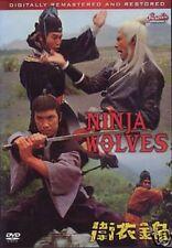 Ninja Wolves - Hong Kong Kung Fu Martial Arts Action movie Dvd New