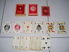 Carte Poker Scozia ARMANINO ROMA per esportazione anni 40/50 - 54 playing cards