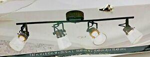 ALSY 2.5 ft. 4-Light Integrated LED Track Lighting Kit 21132-000