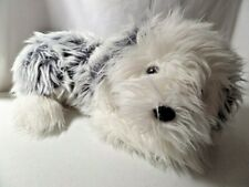 F.A.O. Schwarz English Sheepdog Plush 17� Gray White