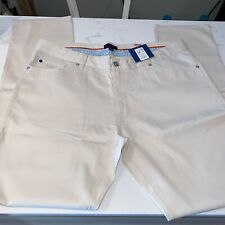 Mercer Blue Stone Washed Canvas 5 Pocket Size 40 NWT