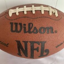 Official Nfl Vintage Retro Wilson Composite Leather Afc Nfc Football Made In Usa