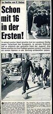FC Chelsea -- Ian Hamilton-con 16 anni -- calcio -- Scollo giornale di 1967