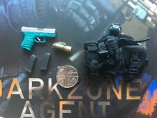 Virtual Toys The Dark Zone Agent Tracy R Ver G26 Pistol loose 1/6th scale