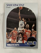 1990-91 hoops Sam Vincent/(Shows Michael Jordan #12 Jersey) Orlando Magic #223