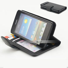 Slim Credit Wallet Leather Case Cover For Huawei Ascend G510 AU