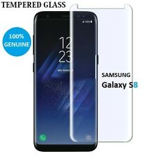 100% Genuine tempered glass screen protector for Samsung Galaxy S8 - Clear