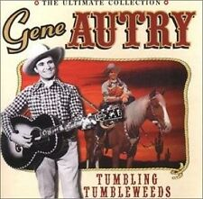 GENE AUTRY -TUMBLING TUMBLEWEEDS-ULTIMATE COLLECTION-26 SONGS-CLASSIS COUNTRY CD