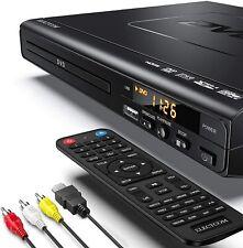 ELECTCOM DVD CD Player HDMI FullHD 1080p USB-Eingang Dolby Digital alle Regionen