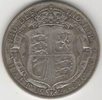 1924 George V Silver Half Crown | Key Date | Pennies2Pounds