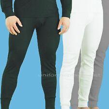Men's Thermal Pants Underwear Long Pant Slim Fit  Black White Gray L - 5XL