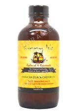 SUNNY Isle Giamaicano Nero Olio Di Ricino Regolare 100% naturale (senza sale) 4oz 118.3ml
