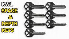 Kwikset Lock (Kw1) Code Cut Space and Depth Keys | 5 Pin