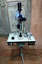 Topcon SL-3D avec HAAG-STREIT Bern H03 occasion Slit Lamp Lampe à fente *