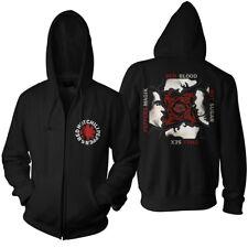 RED HOT CHILI PEPPERS- BLOOD SUGAR SEX MAGIK Official Zip Hoodie Mens Licensed