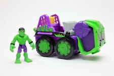 Imaginext Incredible Hulk Vehicle Bulldozer RARE w/ Figure