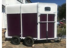 Ifor Williams Horse Box Trailer with cover (HB505) - trailer conversion