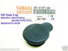 Yamaha RD350YPVS RZ350 Oil Tank Cap NOS RD125LC DT50 2T Tank Cover 10V-21771-00
