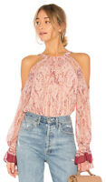$198 New Women's Bcbg max azria Pink Combo Sessilee  Gtd1z217-age SZ M