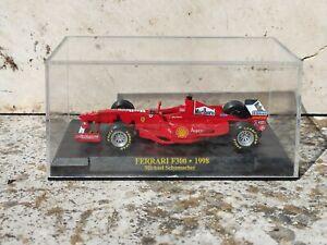 Ferrari F300 1998 Michael Schumacher Marlboro modellino Formula 1 IXO 1/43 teca