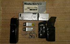 Vintage Minolta -16 MG Camera Kit Made in Japan