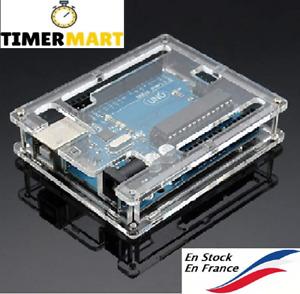 Uno R3 Case boîtier Nouvelle boîte pour Arduino UNO Acrylique TimerMart