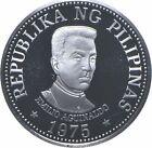 SILVER - WORLD Coin - 1975 Philippines 25 Piso - World Silver Coin *075