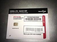 Tracfone on Verizon 4G LTE Nano SIM Card UCCID CDMA *Old SIM Stock* RARE