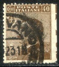 Regno d'Italia 1908 Effigie di Vittorio Emanuele III n. 84i varietà (l616)