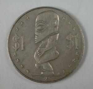 Cook Islands Coin $1 Dollar 1973