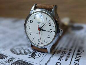 Gents Vintage Ingersoll 5 Jewel Lance Hands Breguet Numerals UK Watch - Working