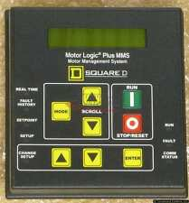Square D 9999MMS Motor Logic Plus II Display, NEMA 12/3R, NEW!