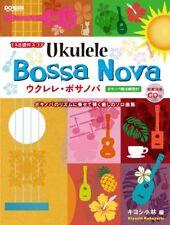 NEW With TAB notation score Ukulele Bossa Nova <model performance with CD> w/Tra