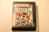 DALEY THOMPSON'S DECATHLON COMMODORE C64 64K  BY OCEAN 1988
